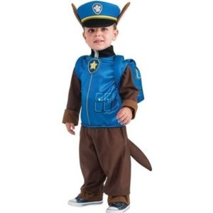 costumes paw patrol chase child halloween costume size 4 6
